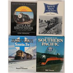 Railroad Books on Nevada, SP & Santa Fe  (121286)