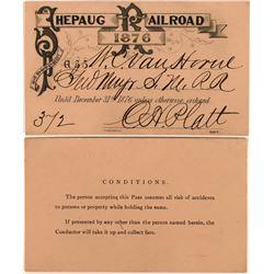 Shepaug Railroad Annual Pass  (113452)