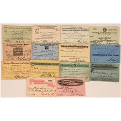 Chicago Railroad Pass Collection  (113437)