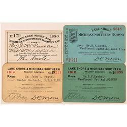 Lake Shore & Michigan Southern Railway Annual Passes  (113431)