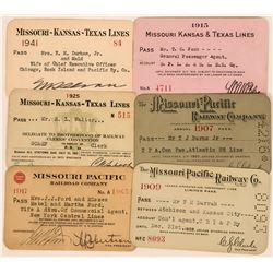 Missouri Railroad Pass Group  (113449)