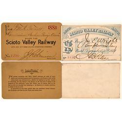 Scioto Valley Railway Annual Passes  (113451)