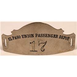 El Paso Union Passenger Depot Cap Badge  (113422)