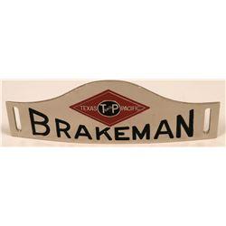 Texas & Pacific Railway Brakeman Cap Badge  (113406)