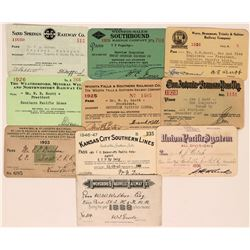 Miscellaneous US Railroad Pass Collection  (113473)