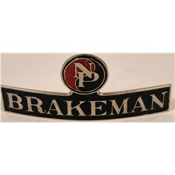 Northern Pacific Brakeman Cap Badge  (113401)