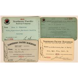 Northern Pacific Railroad Annual Passes  (113446)