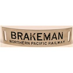 Northern Pacific Railway Brakeman Cap Badge  (113411)