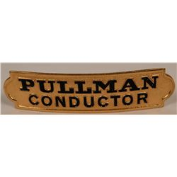 Pullman Conductor Cap Badge  (113405)
