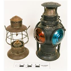 Railroad Signal Lamps  (122728)