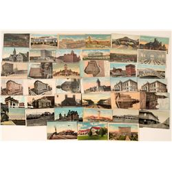 Railroad Stations in the United States, 41 Early Postcards  (122295)