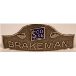 Soo Line Railroad Brakeman Cap Badge  (113408)