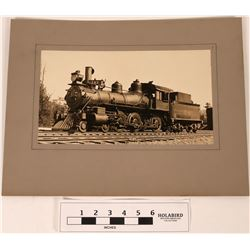 Southern Pacific Locomotive Mounted Photograph  (122287)