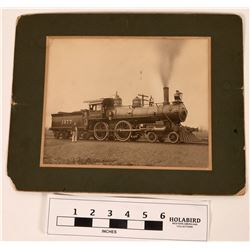 Southern Pacific Locomotive Mounted Photograph  (122285)