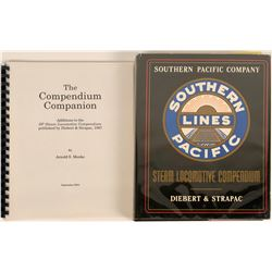 Southern Pacific Railroad Steal Locomotive Compendium Book, Plus  (122288)