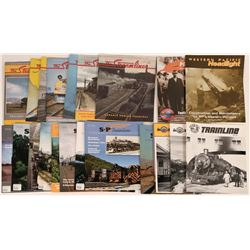 Western U. S. Railroad Historical Society Publications (22)  (122296)
