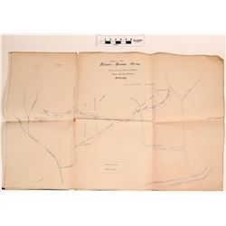 Nome Alaska Maps with Property and Mine Claims (2)  (120601)