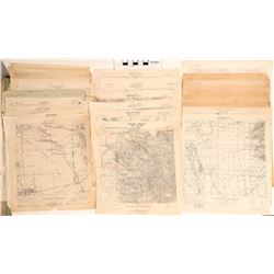Topographical Maps of Arizona  (117839)