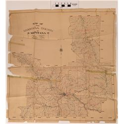 Missoula, Montana Map  (120600)