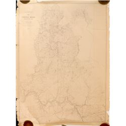 Colville Region W. T. Map 1882. Pompelly
