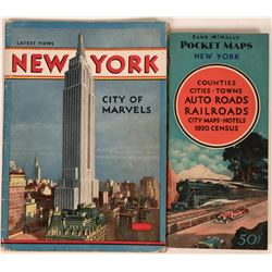New York City & State Maps & View Publications (2)  (122270)