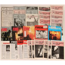 Fire Service Magazines (No longer published) (22)  (122294)