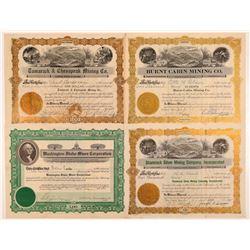 Couer d'Alene Mining Stocks (4)  (108169)