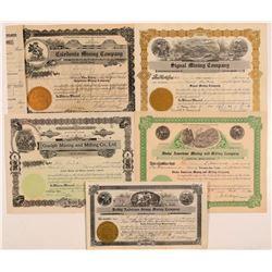 Kellogg, ID Mining Stocks (5)  (108170)