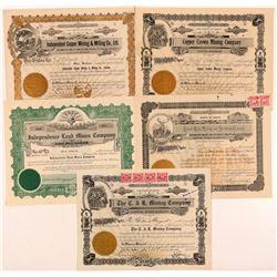 Mullan, ID Mining Stocks (5)  (108166)