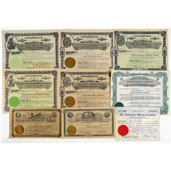 Idaho Mining Stocks (8)  (109514)