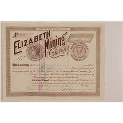 Elizabeth MC Stock  (109536)