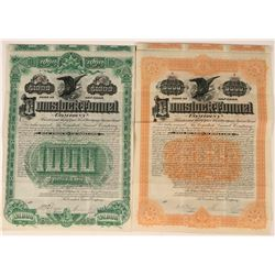 Two Comstock Tunnel Bonds  (113578)