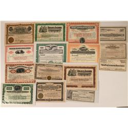 Southern Nevada Mining Stock Collection  (113577)