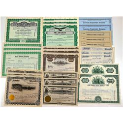 Stock  Certificates /  All Utah / About 25 Items  (106279)