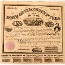 Yuba County RR Bond Cert  (120892)