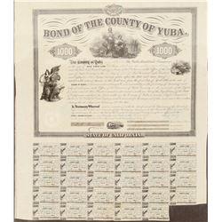 The Yuba Railroad Co. Stock  (101319)