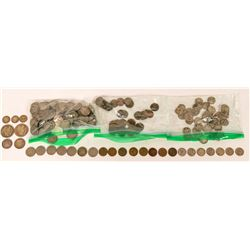 Circulated Coin Hoard  (119867)