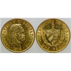 Dos Pesos Gold Coin  (120692)