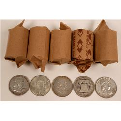 Franklin Half Dollar Rolls  (119792)
