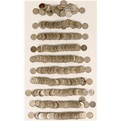 Silver Roosevelt Dime Rolls  (119795)