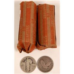 Standing Liberty Quarter Rolls  (119799)