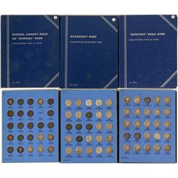 Whitman Dimes Albums: Barber, Mercury & Roosevelt  (121653)