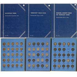 Whitman Dimes Albums: Barber, Mercury & Roosevelt  (121654)