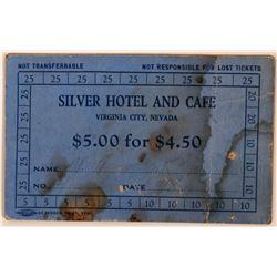 Silver Hotel & Cafe Scrip  (113479)