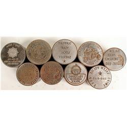 Law Enforcement Die Collection (9)  (100092)