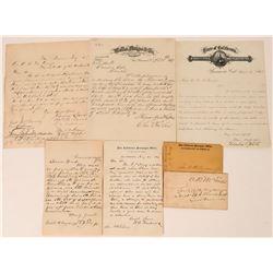 San Francisco Mint-Related Correspondence to Gen. Oscar La Grange  (113618)