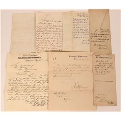 San Francisco Mint-Related Correspondence to President Ulysses S. Grant  (113619)