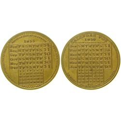 Calendar Medal  (100332)
