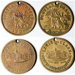 Lewis & Clark Exposition Medals  (121358)