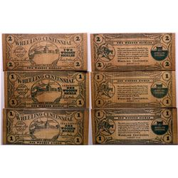 Wooden Nickel from Wheeling, West Virginia  (114420)